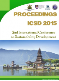 Image of Proceedings ICSD 2015 2nd International Conference on Sustainability Development